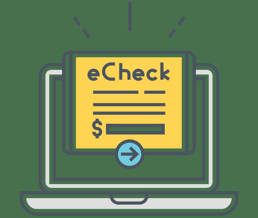 كازينو عبر الإنترنت eChecks