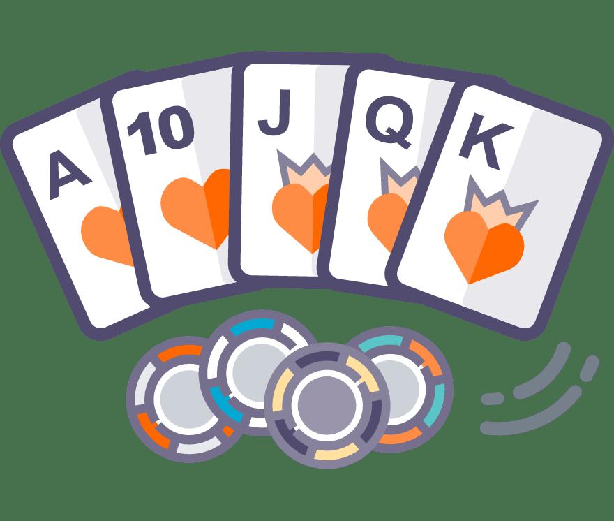 60 أفضل Texas Holdem كازينو عبر الإنترنت في عام ٢٠٢١